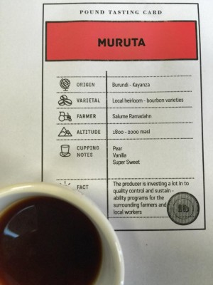 Stunning Espresso!